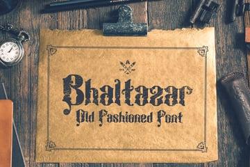 Bhaltazar Typeface