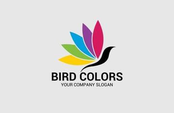 Bird Colors Logo