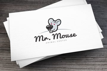 Mr Mouse Logo Template