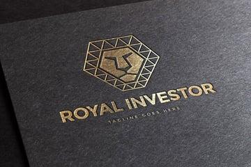 Royal Polygon Logo Template