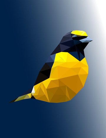 Low Polygonal Animal Adobe Illustrator Tutorial