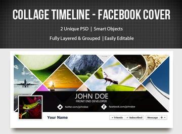 Collage Timeline Facebook Cover