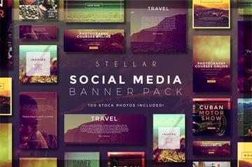 Stellar Social Media Banner Pack