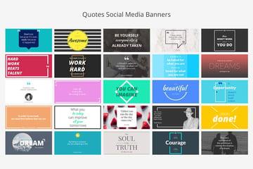 Twitter Social Media Banners Pack