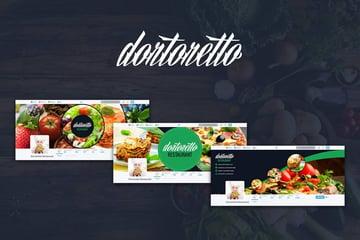 Dortoretto Twitter Backgrounds Circle