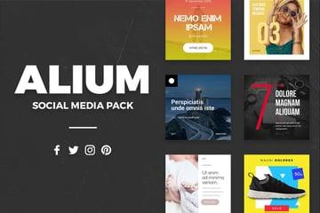 ALIUM - Social Media Pack