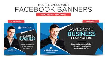 Multipurpose Facebook Banners