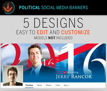 Political Election Social Media Banner