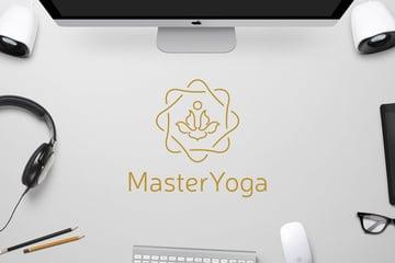 Master Yoga Logo