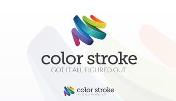 Color Stroke Logo