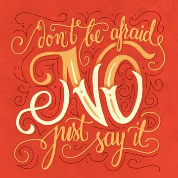Dont Be Afraid Just Say It by Anastasia Dimitriadi