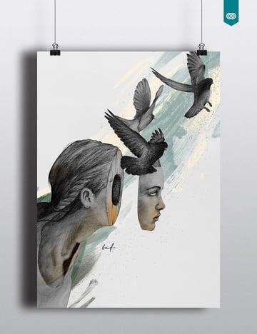 Personal Illustrations by John Taf