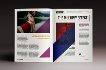 Multiply InDesign Magazine Template