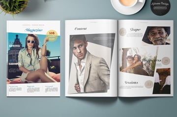 Lifestyle and Fashion Magazine Template