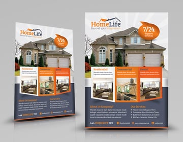 Professional Real Estate Flyer Template