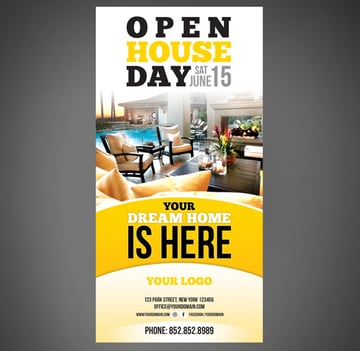 Real Estate Open House Flyer