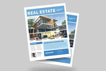 Minimal Real Estate Flyer