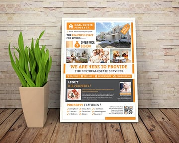 Real Estate Flyer- 5 Layouts