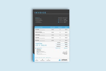Invoice Template - Multiple Formats
