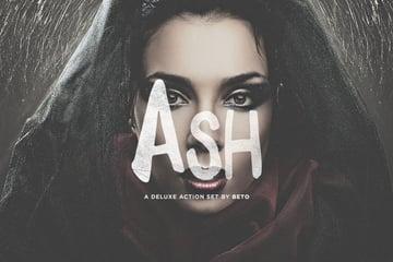 Ash Photoshop Action