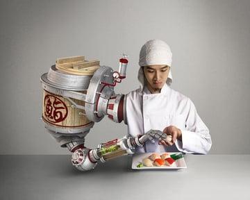 Future Sushi Chef by Te-Yu Liu