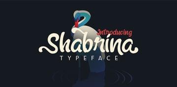 Shabrina Typeface