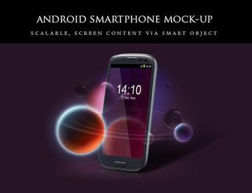 Android Smartphone Mockup Set
