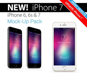 iPhone 7  6s Mockup Pack
