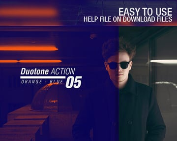 100 Duotone Actions