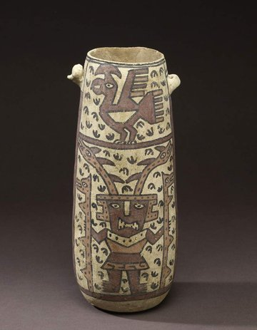 Chancay Vessel with Sican God