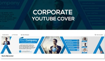 Corporate Youtube Banner Template