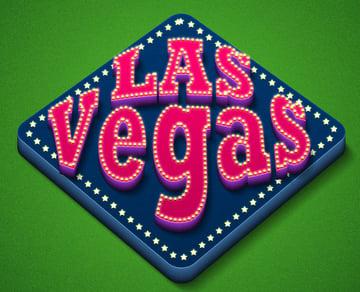 1-Click Action Las Vegas 3D Text Generator