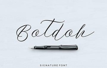 Botdoh Font