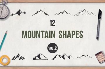 Mountain Shapes Vol2