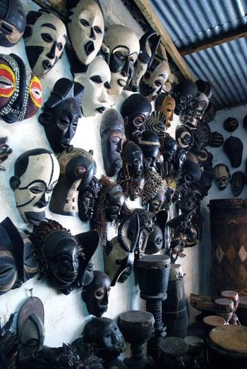 Commercial African Masks