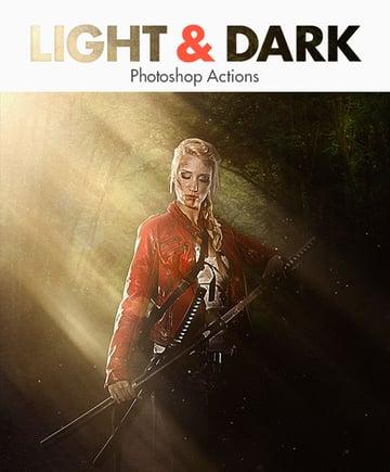 Light Dark - Photoshop Actions