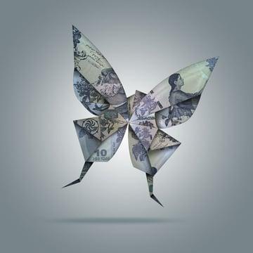 Create Origami Birds Using One Dollar Bills in Adobe Photoshop
