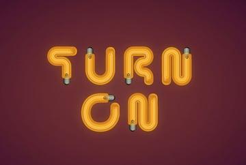Light Bulb Text Effect in Adobe Illustrator