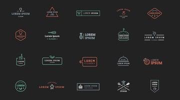 Hospitality Line Art Logo Kit