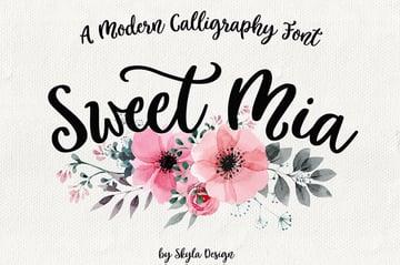 Sweet Mia Font