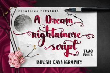 Nightamore Font