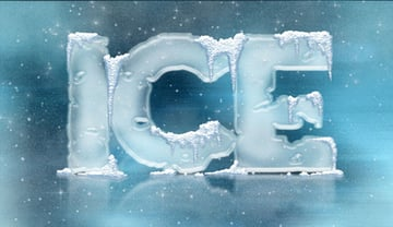 3D Ice Cool Freeze Snow Effects Styles