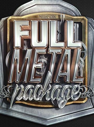 Full Metal Package 3D