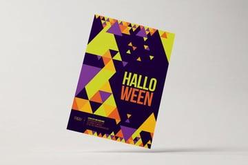 Minimal Halloween Poster