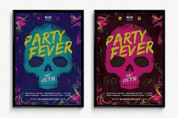 Party Fever Club Poster