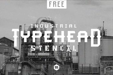 Typehead Stencil Font Download