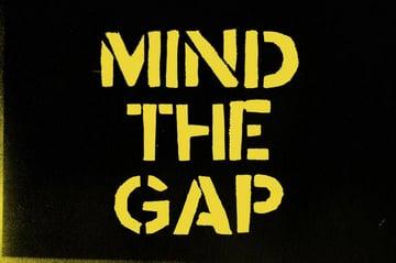 Mind the Gap Stencil Bold Typeface Font