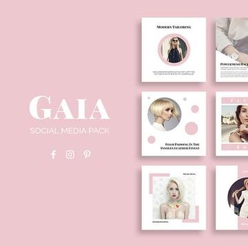 Gaia Social Media Pack