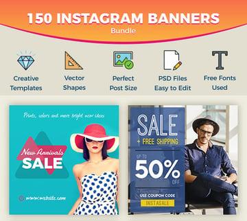 Instagram Banners Bundle