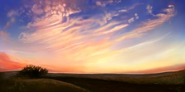 How to Paint Wispy Clouds in Photoshop